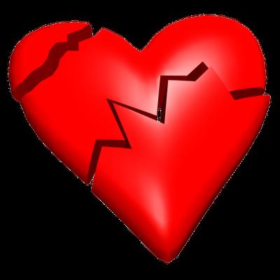 Sad Heart PNG Photo