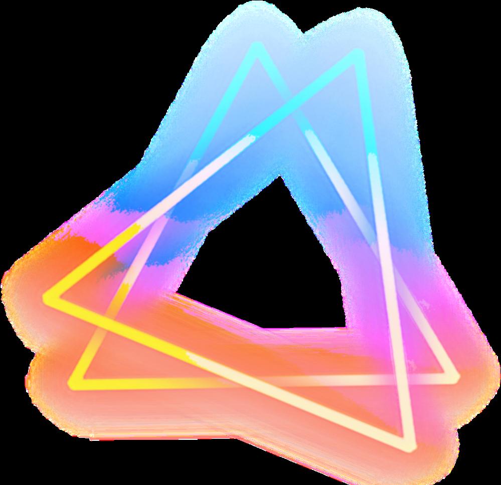 Geometric Triangle Transparent Image