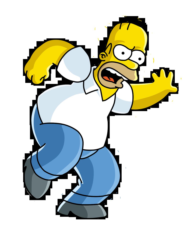 Homer Bart Simpson PNG Image Background