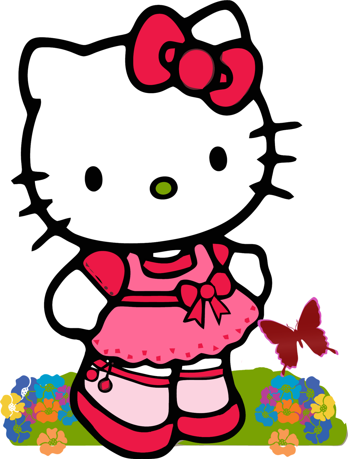 Vector Hello Kitty Transparent Image