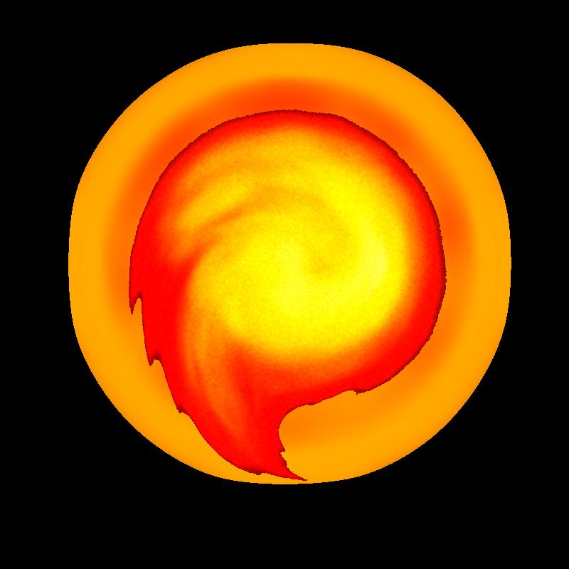 Fireball PNG Image HQ