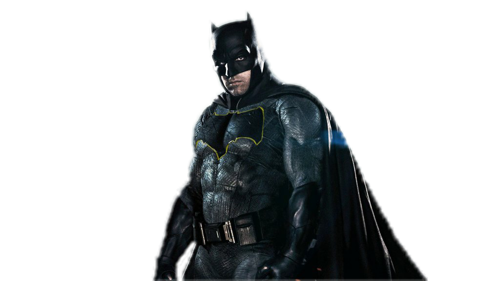 Ben Affleck Batman PNG Transparent Image