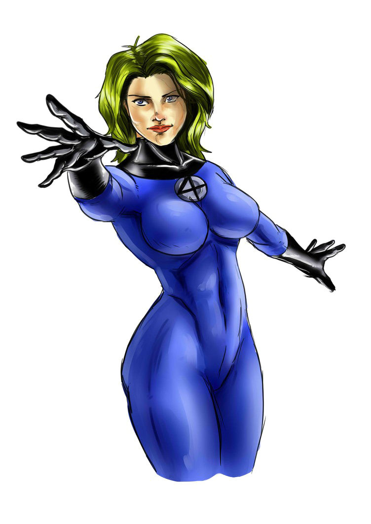 Invisible Woman PNG High-Quality Image