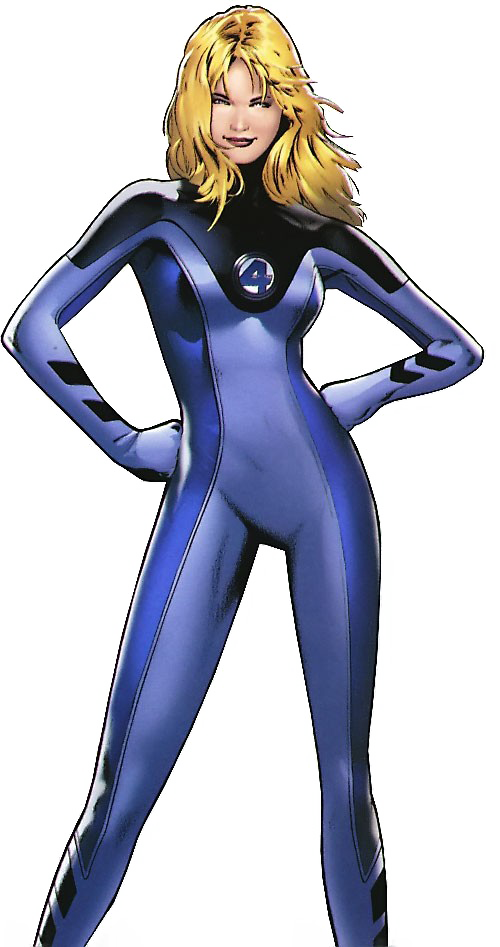 Invisible Woman PNG Pic