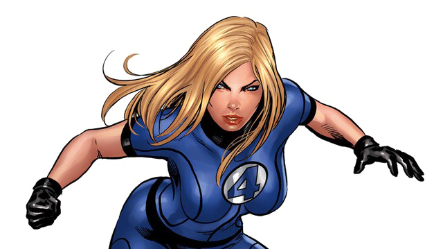 Invisible Woman Transparent Background PNG