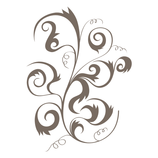 Curly Swirl PNG Pic