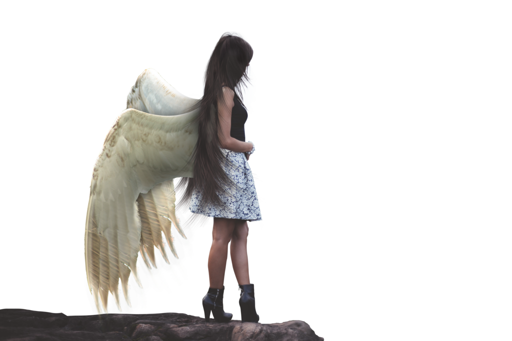 Female Angel Transparent Image