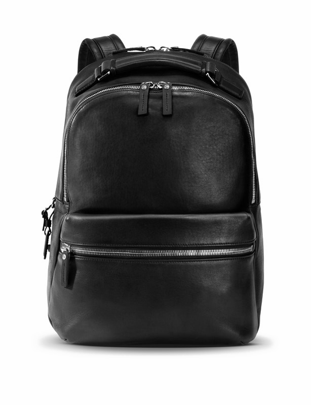 Leather Backpack PNG Image Background