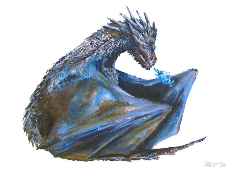 Viserion Dragon PNG Photo