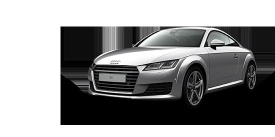 White Audi Transparent