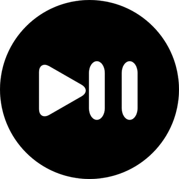 Pause Button PNG Image Transparent