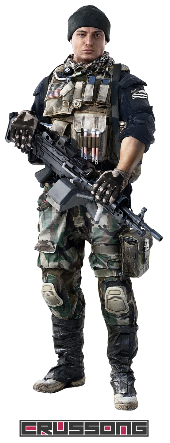 Soldier PNG Image