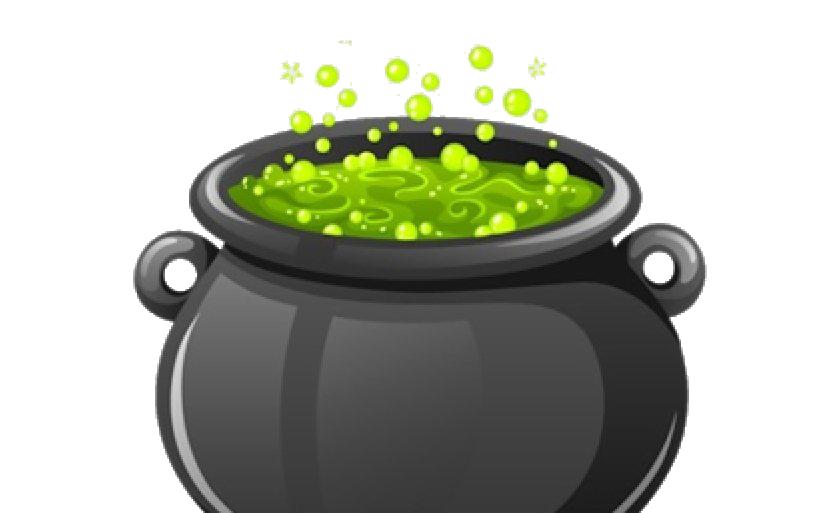 Halloween Cauldron PNG Image