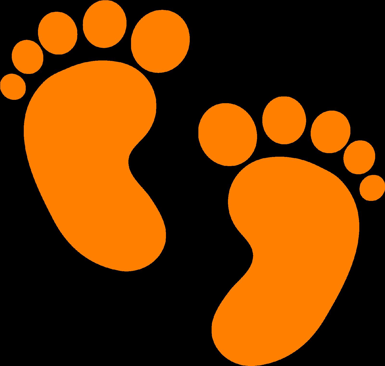 Baby Footprint PNG Download Image